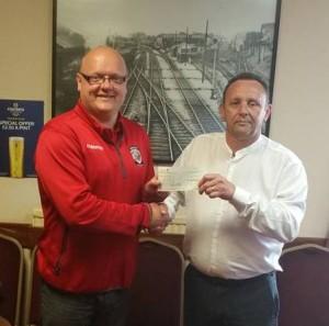 Railway Club Donation
